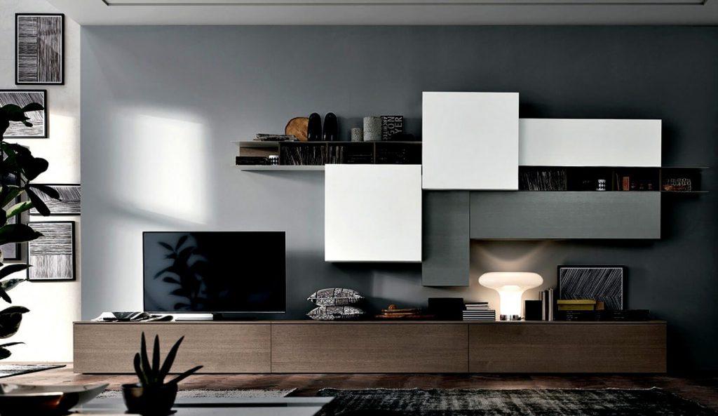 mobili modulari zona living