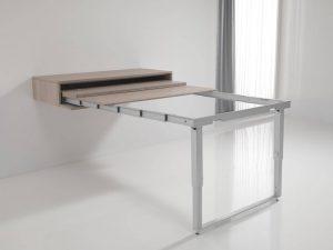 mobili estensibili: tavolo allungabile