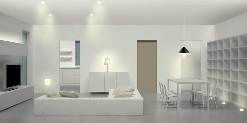 Come scegliere l'illuminazione giusta in ogni stanza della casa