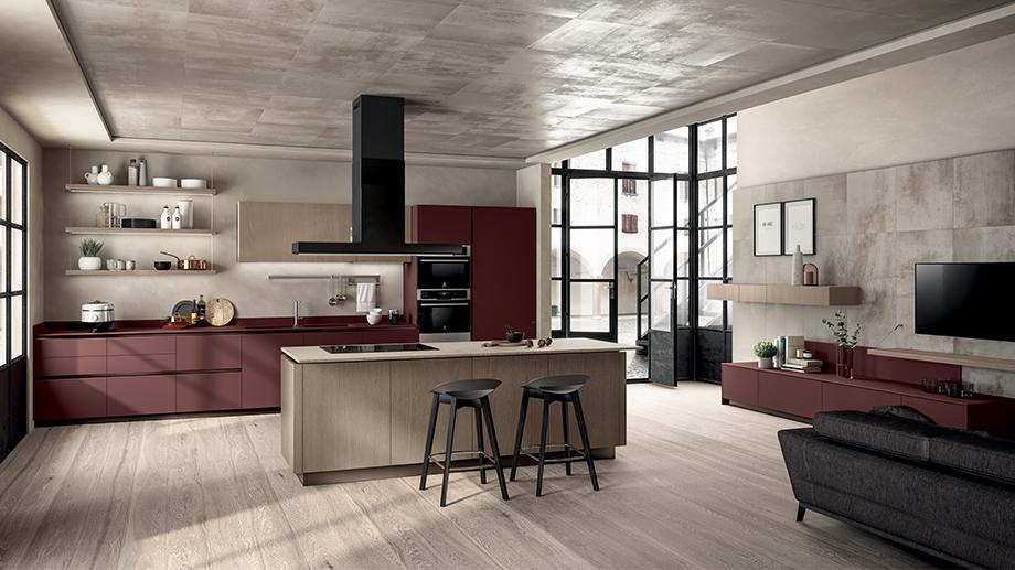 Spazi aperti: come integrare living e cucina e altri ambienti della casa.